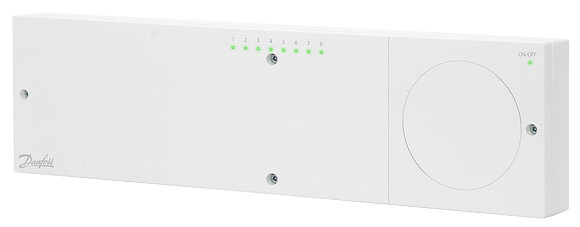 088U1030 Icon 230V grindu sildymo valdiklis, 8/14 zonu be saldymo ir temperaturos   pazeminimo isvykus funkciju