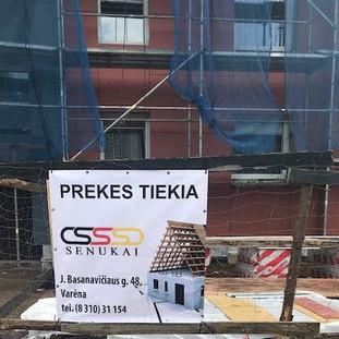 SENUKŲ parduotuvė prisideda prie renovacijos Varėnos mieste