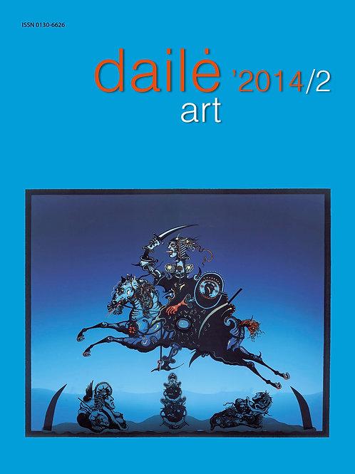 """Žurnalas """"Dailė/Art"""" Nr. 2014/2"""