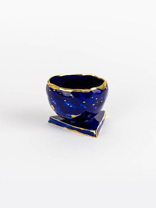 Eva Tomaš, dekoratyvi taurelė Limoges porcelain 2020