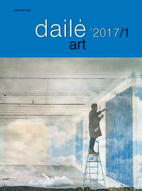 """Žurnalas """"Dailė/Art"""" Nr. 2017/1"""
