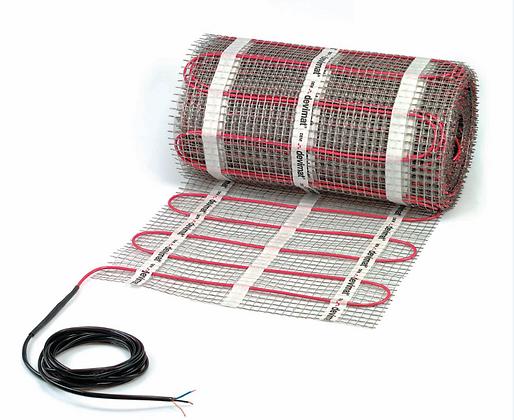 Elektrinio šildymo kilimėlis DEVIcomfort™ 150T (DTIR), 600 W, 4 m² (0,5x8 m), 230 V