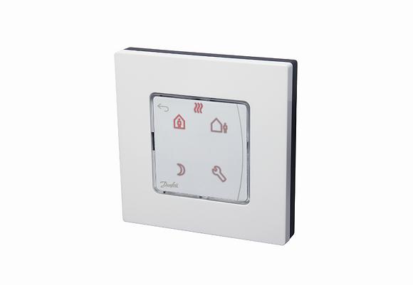 088U1020 Icon patalpos termostatas programuojamas su ekranu, 230V50Hz,  ileidziamas i siena