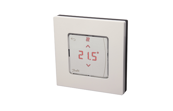 088U1010 Icon patalpos termostatas su ekranu, 230V50Hz,  ileidziamas i siena