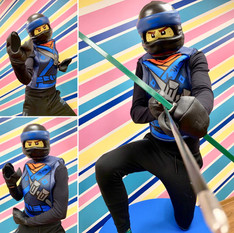 Lego Ninjago mėlynas