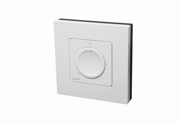 088U1005 Icon patalpos termostatas standartinis su pasukamu ratuku, 230V/50Hz, virstinkinis