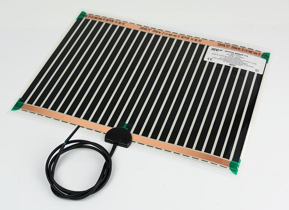 Elektrinis šildymo kilimėlis veidrodžiui nuo rasojimo DEVIfoil™ Mirror 17,5 W; 0,10 m² (27,4x35,8 cm), 230 V