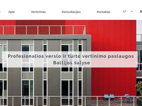 www.balticvaluation.lt - profesionalios turto ir verslo vertinimo paslaugos Baltijos šalyse