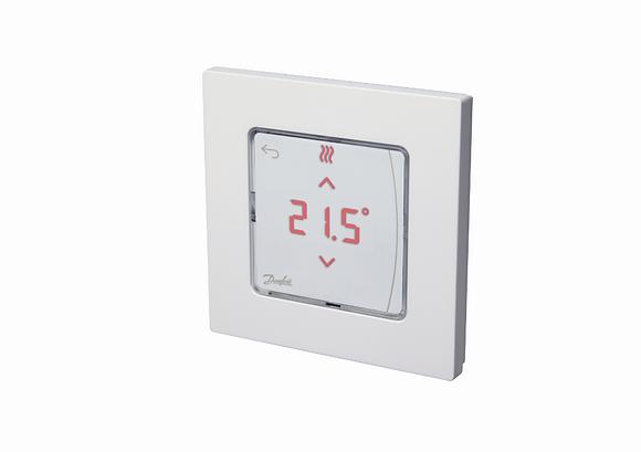 088U1055 Icon patalpos termostatas 24V su ekranu, virstinkinis