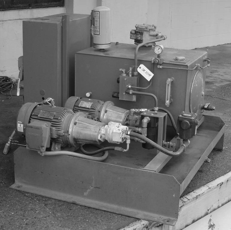 PRE-OWNED HYDRAULIC POWER UNITS