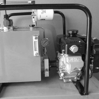 SMALL GAS POWERED HPU