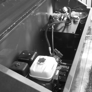 GAS POWERED HPU FOR MARINE APPLICATION