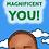 Thumbnail: Mocha Monty Bookmark