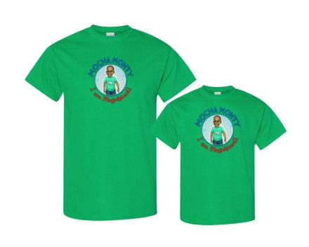 Mocha Monty Logo T-Shirt