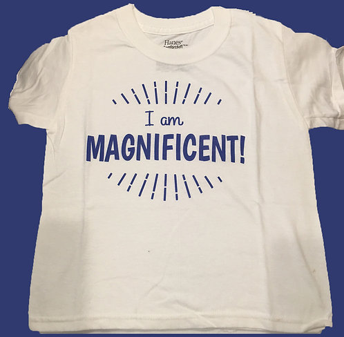 "Mocha Monty ""I am Magnificent"" T-Shirt"