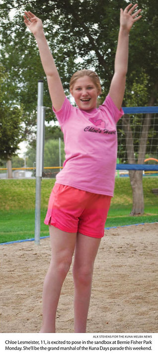 Chloe in the sandbox at bernie fisher pa