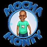 LOGO_Mocha Monty Circle_Monty Green Shir