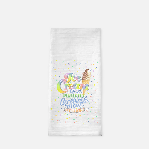Ice Cream Tea Towel