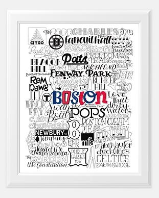 Boston Type Mashup