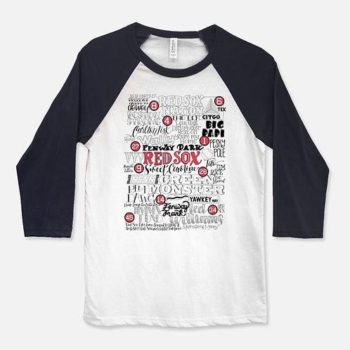 Red Sox Baseball Shirt