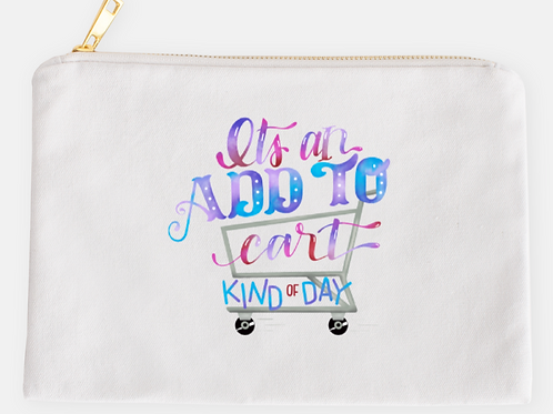 Add to Cart Pouch