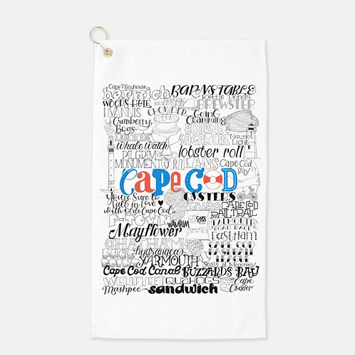 Cape Cod Golf Towel
