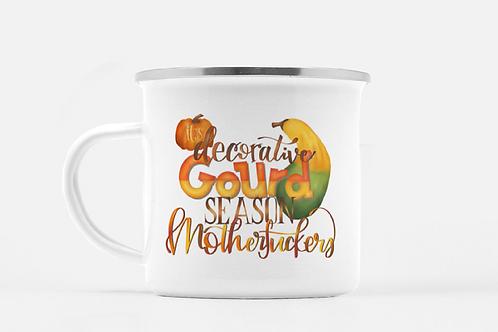 Decorative Gourd Season Mug