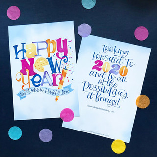 Custom New Year's Card
