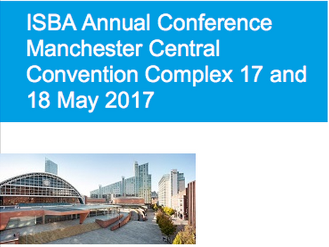 Come and See us as the ISBA Conference - Stand 30