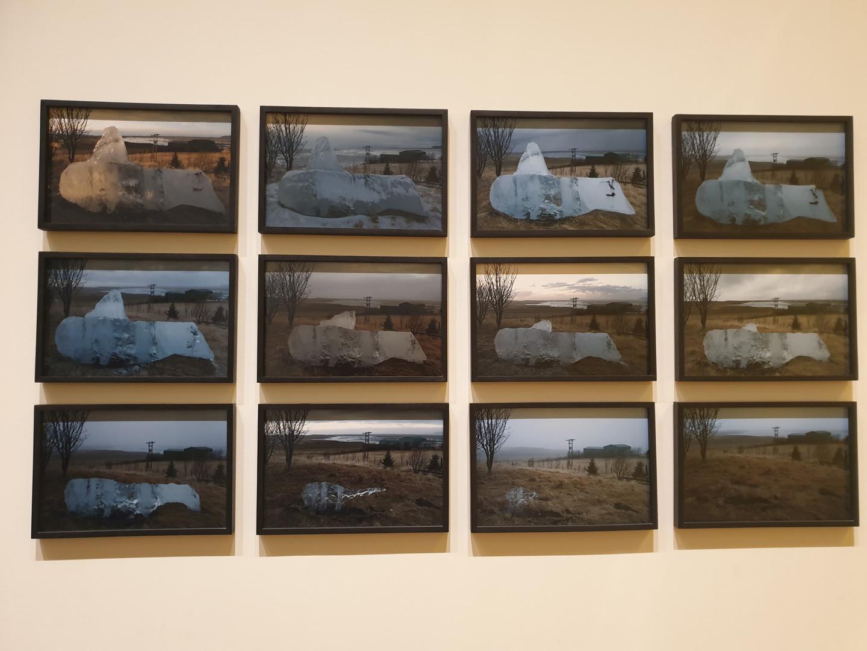 Olafur Eliasson, In Real Life Exhibition, Glacier Melt Series, 1999-2019