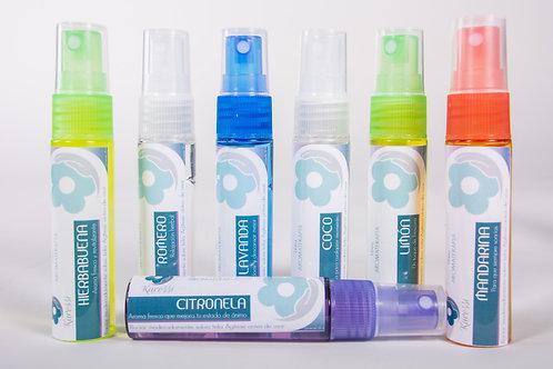 Spray aromático