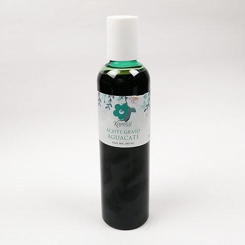Aceite Graso de Aguacate Crudo 150 y 250 ml ml