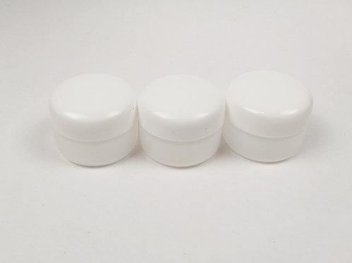 Pomadera blanco mate 15 gramos