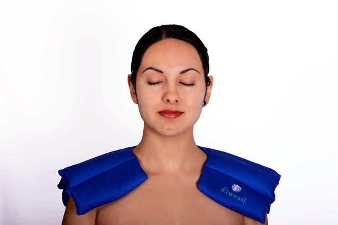 Herradura Karessi de semillas para dolor de hombros y espalda