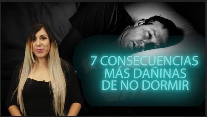 7 terribles consecuencias de no dormir bien