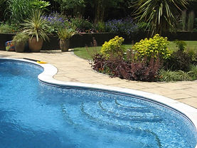 Family Garden With Pool Frimley