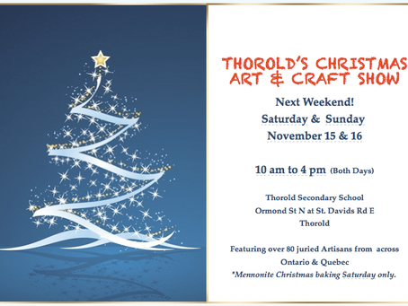 Upcoming Christmas Craft Show