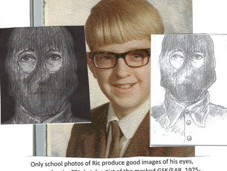 "*****Golden State Killer/East Area Rapist ""masked"" drawn by FBI professional sketch artists in 1978"