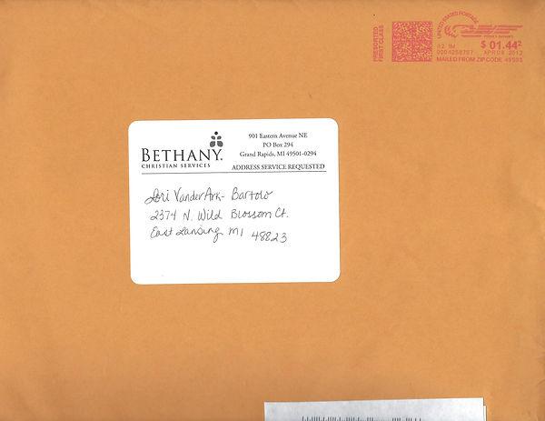 Bethany Christian Services Envelope April 9, 2012.jpg