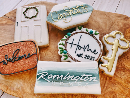 The perfect house warming gift... cookies!