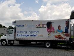 Harvest Food Bank Truck