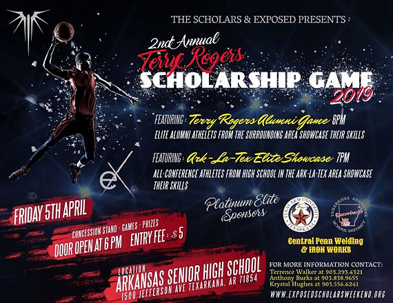 2nd Annual Terry Rogers Scholarship  Gam