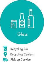 glass jar, glass bottles
