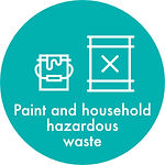 paint and household hazardous waste