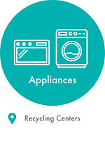 appliances, microwave and washing machine