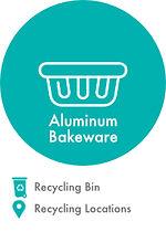 Recycling locations Aluminum bakeware.jp