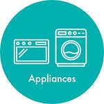 appliances, microwave, washing machine