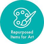 repurposed items for art.jpg