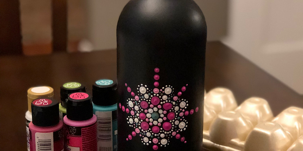 May Bottle Painting Workshop