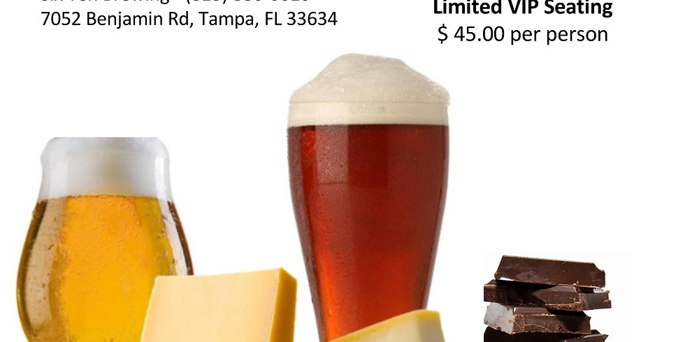 Beer, Chocolate & Cheese Pairing with Michael Landis